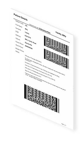 2D Barcode Requesting | Book Demo | DMF Systems